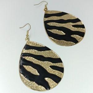 NWT TeSori Lightweight Animal Print Earrings